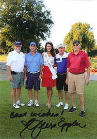 Tom Affeldt attends the Kiwanis Golf Tournament