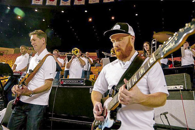 Rock of ages: Pep band at ORU games is old-school cool