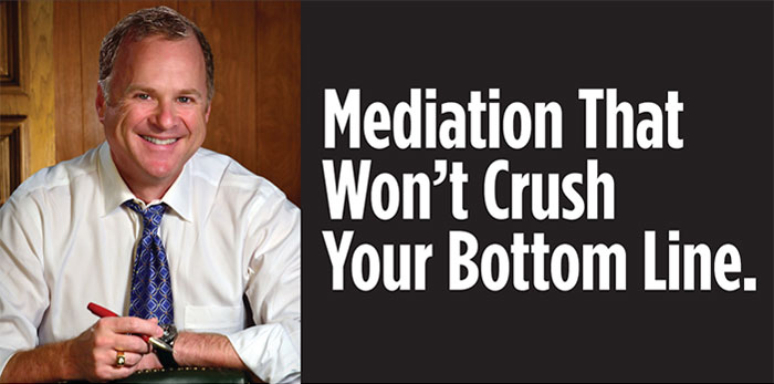 Mediation that won't crush your bottom line